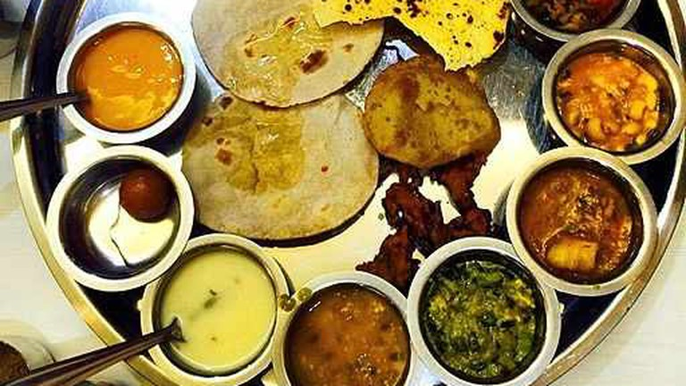 The Gujarati Thali