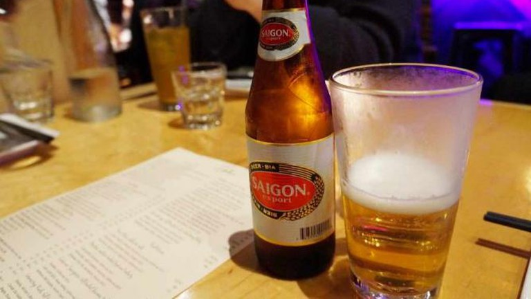 Iconic Beer of Saigon
