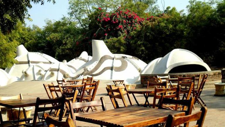 Zen Café and Amdavad ni Gufa