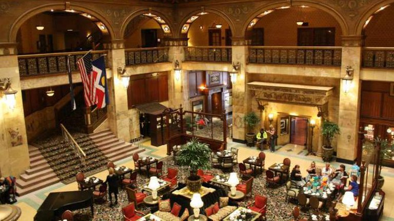 A Creative Commons Image: The Lobby of The Brown Palace