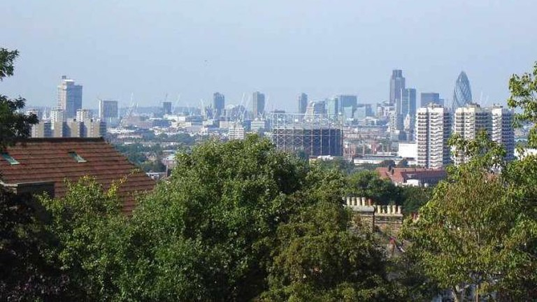 The view from Telegraph Hill, Brockley