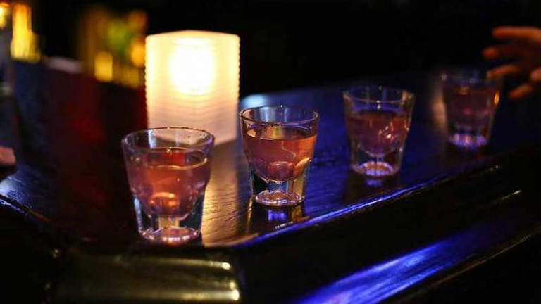 shots in a mineapolis bar