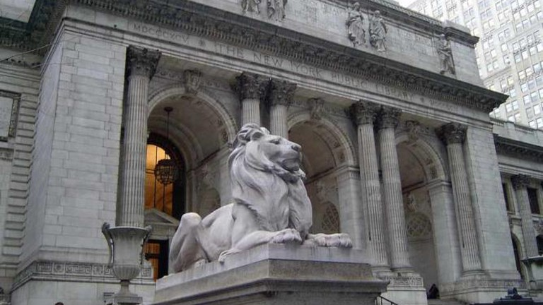 New York City Public Library front