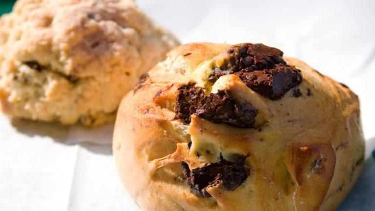 Chocolate Pastry and Scone Arizmendi