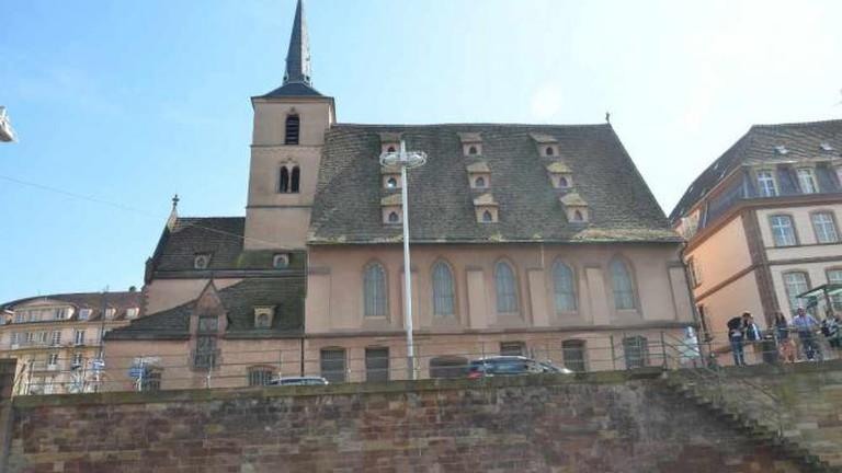 Strasbourg. L'église Saint-Nicolas