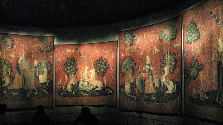 The Lady and the Unicorn Tapestries, Musée Cluny