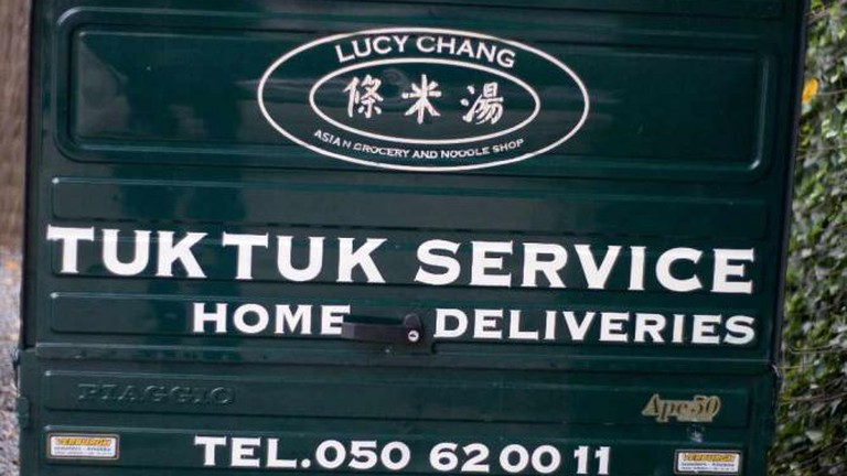 Lucy Chang's Delivery Tuk Tuk