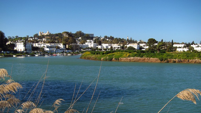 A view from the harbor of Carthage