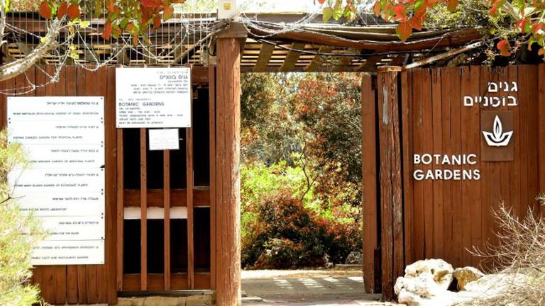 TAU Botanical Garden