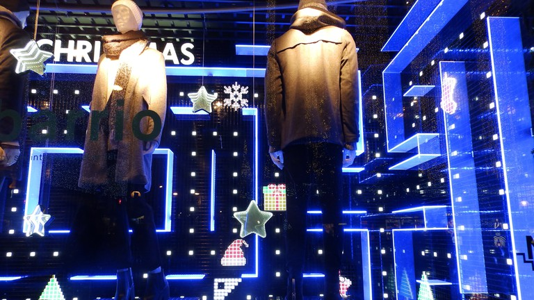 Window display for Pull and Bear