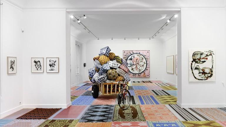 'Hidden Faces' exhibition by artist Barthélémy Toguo