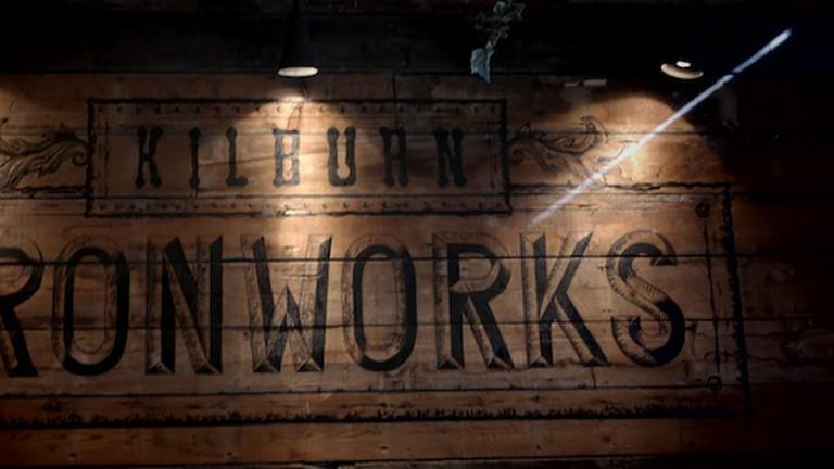 Trendy interiors at Kilburn Ironworks