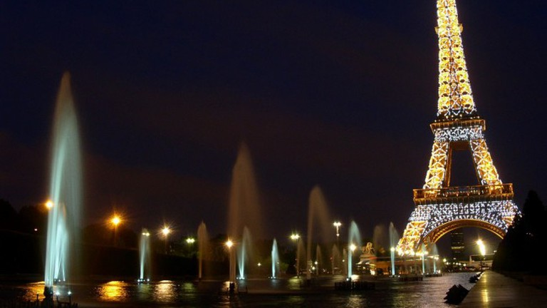 View from the Trocadéro Gardens