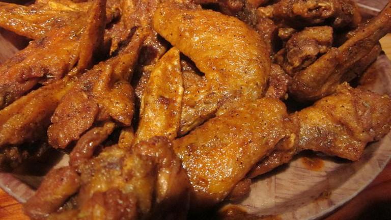 Cajun chicken wings
