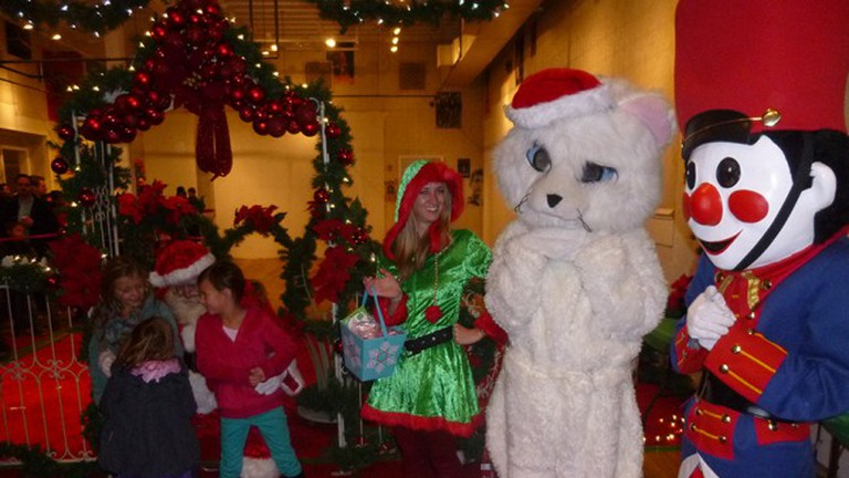 All sorts of Christmas characters came out to entertain kids during the Union Street Holiday Fantasy of Lights celebration on Dec. 5.