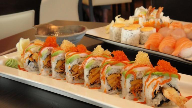 Haru Sushi - Spicy Prawn Roll
