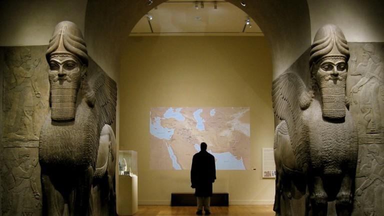 Mesopotamia, Iraq — Assyrian Gateway at The Met