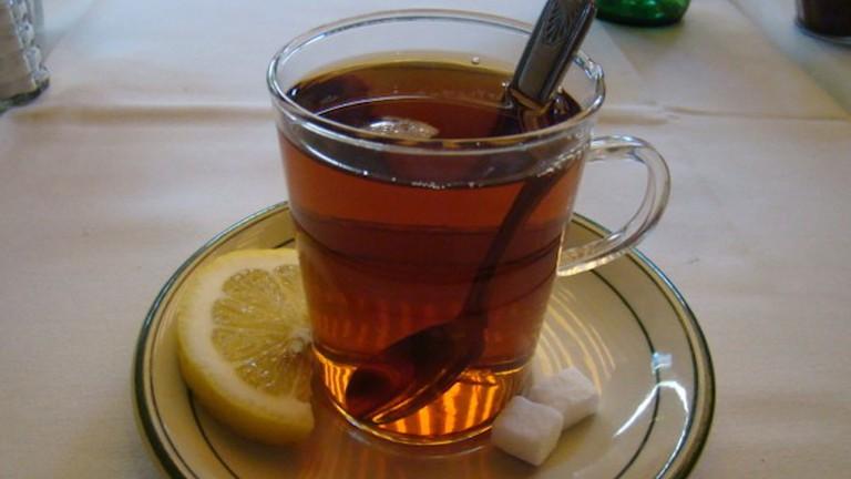 Persian tea at Raffi's