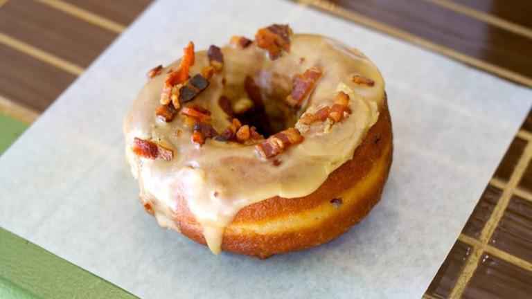 Dynamo's Maple Bacon Donut