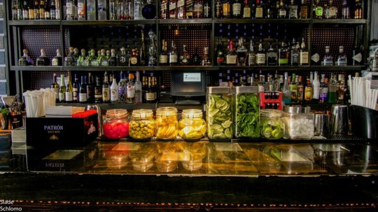 Dyckman Bar's Bar Area