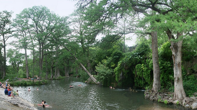 Swimming hole at Krause Springs