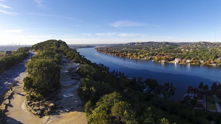 View of Mount Bonnell