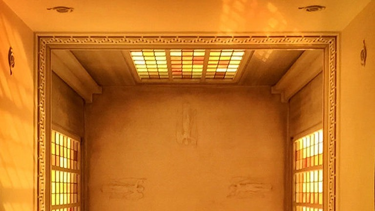 Ceiling of the Dulwich Mausoleum