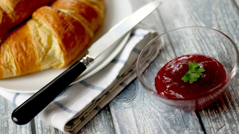 Croissant with Butter&Jam