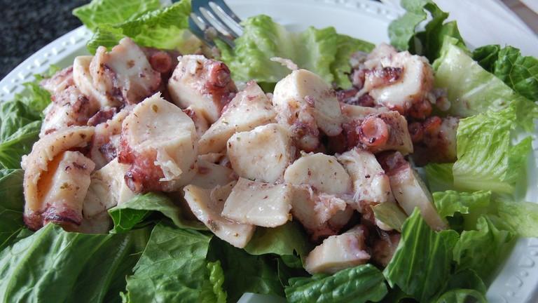 FarmGrill Octopus Salad