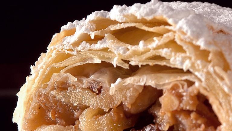 Apfelstrudel nach original Wiener Rezept