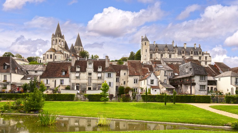 Loches Castle, Loire Valley, France