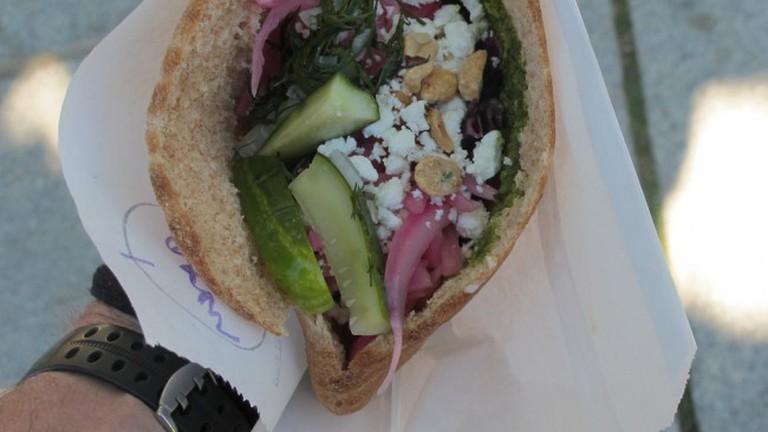 Flafel Sandwich