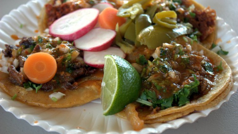 Tacos from Taqueria Sinaloa