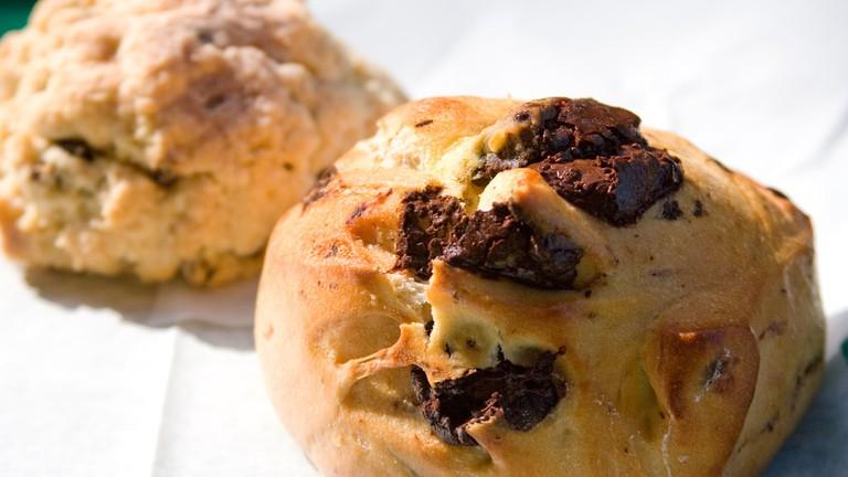 Chocolate Pastry and Scone Arizmendi