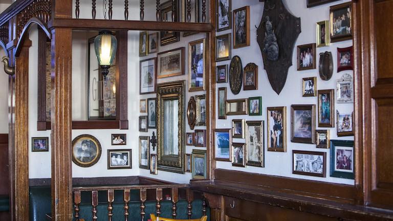The interior of Malarky's