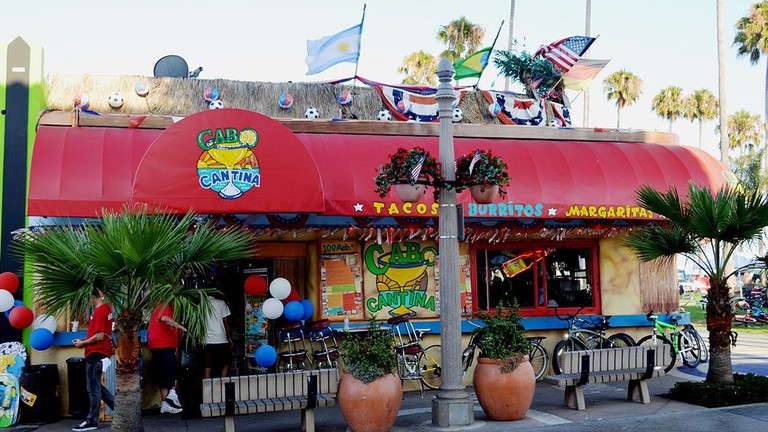 Outside of Cabo Cantina
