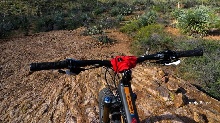 Morning Ride at Franklin Mountains