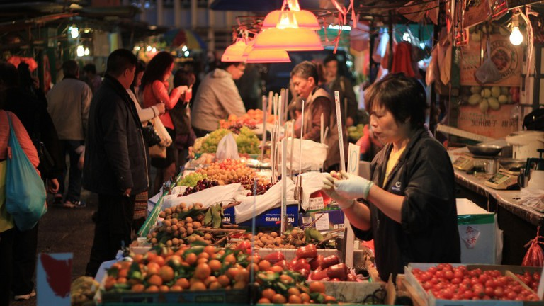 Temple Street Night Market, Yau Ma Tei