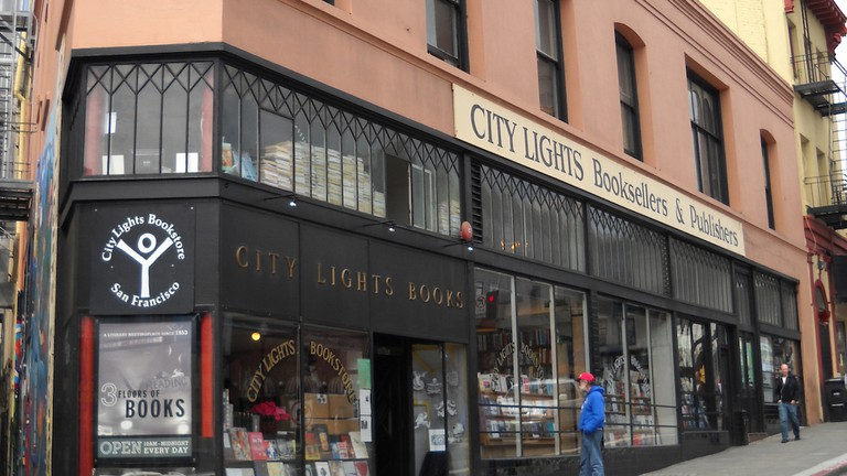 City Lights Store Front