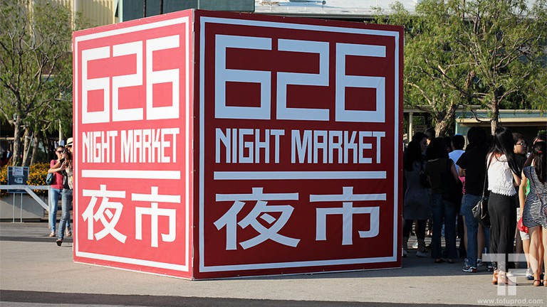 Picture opportunity at the 626 Night Market