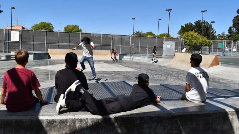 The Foster City Skate Park