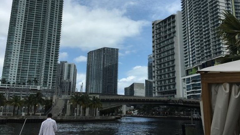River Yacht Club, situated on the Miami River