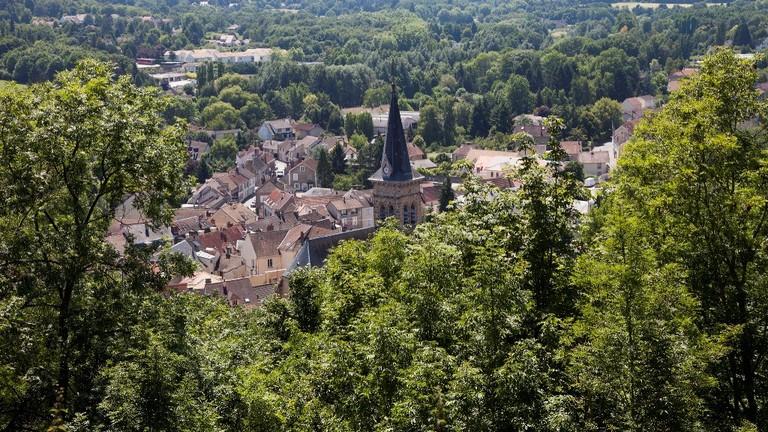 View from the Château de la Madeleine