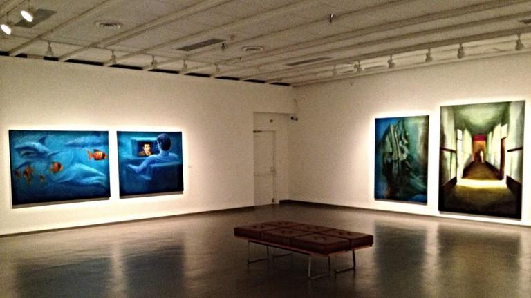 Art Gallery floor
