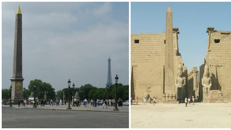 Luxor Obelisk in Paris