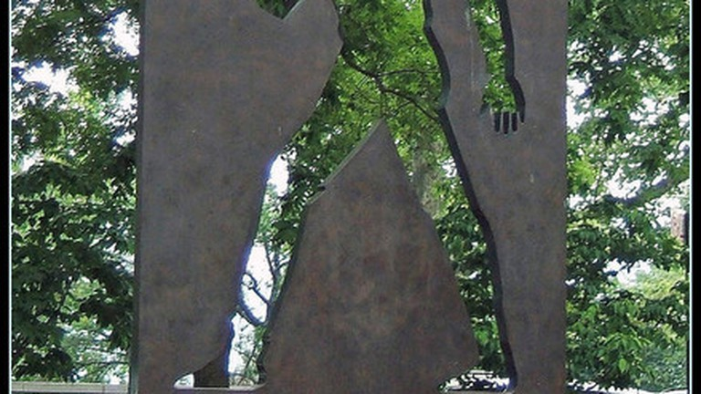 Ralph Ellison sculpture