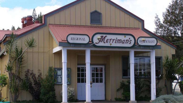 Merriman's Restaurant Waimea | © Derek Wolfgram/Flickr