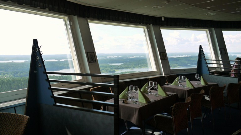 Puijo Tower Revolving Restaurant
