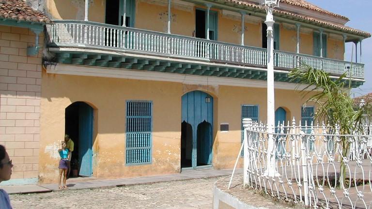 Casa de Aldemán Ortiz, Trinidad, Cuba