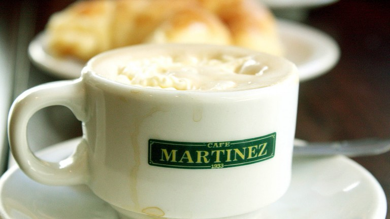 Cafe Martinez Asuncsion Paraguay Coffee